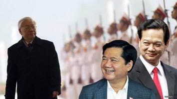 Kết quả hình ảnh cho Nguyễn phú Trọng,Đinh la Thăng