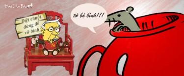 Kết quả hình ảnh cho đánh chuột đừng để vỡ bình
